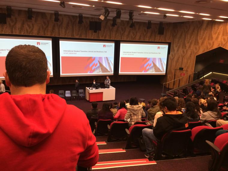 Macquarie University Hörsaal