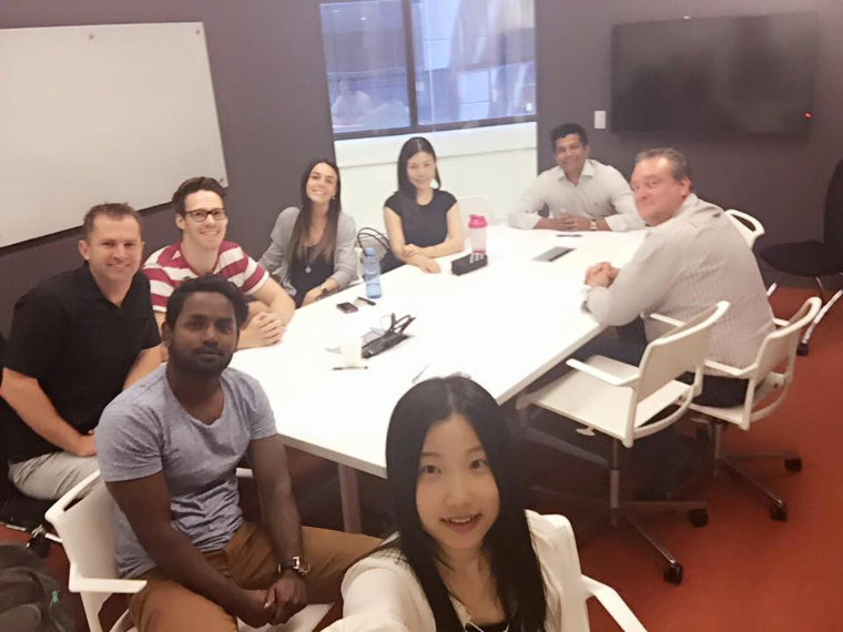 Kurs-Selfie Studium Australien