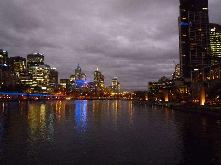 Southbank Yarra River