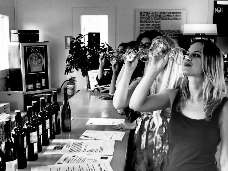 Weinprobe Australien