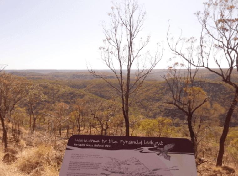 Pyramid Aussicht - Auslandssemester Australien