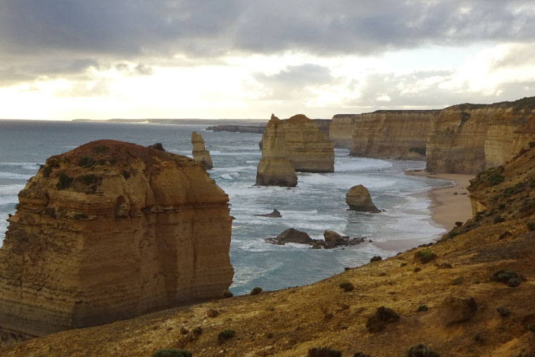 Die 12 Apostles im Port-Campbell-Nationalpark