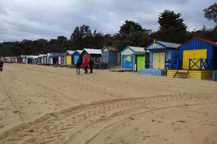 Strandpromenade in Mornington Peninsula