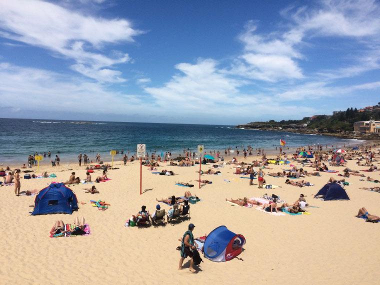 Coogee Beach nahe Sydney