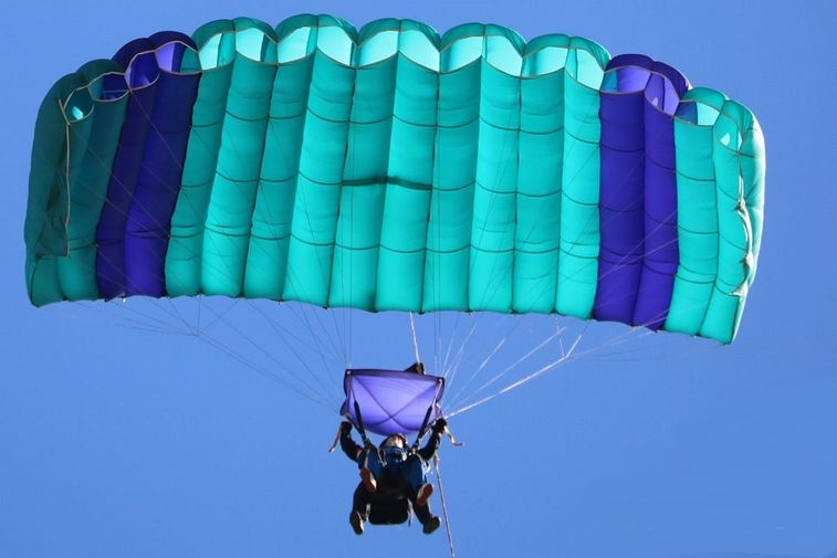 Skydiving in Australien