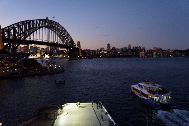 Hafenbrücke Sydney - Auslandssemester Australien