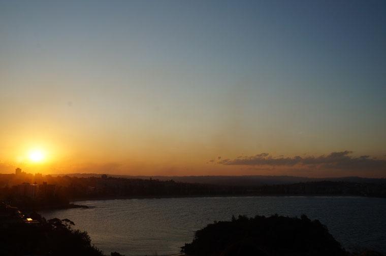 Sonnenuntergang Sydney - Auslandssemester Australien