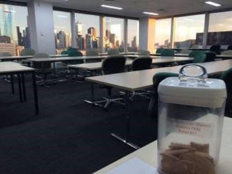 Seminarraum an der University of Melbourne