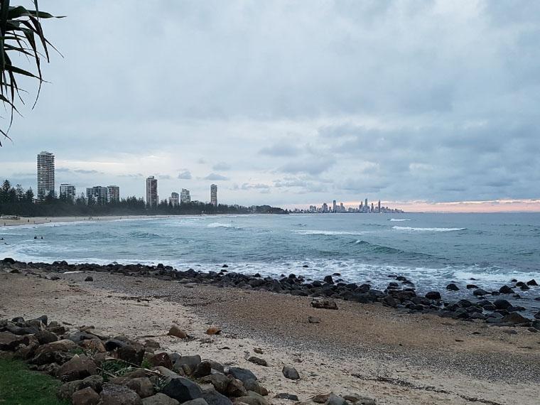 Strand bei Sydney