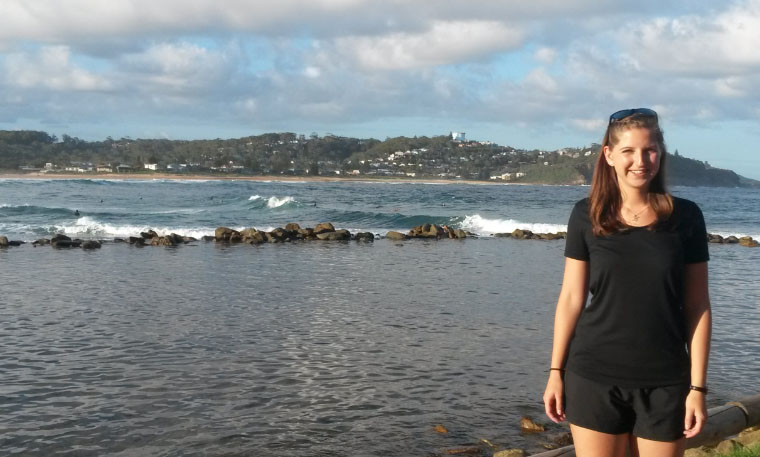 Avoca Beach - Masterstudium in Australien