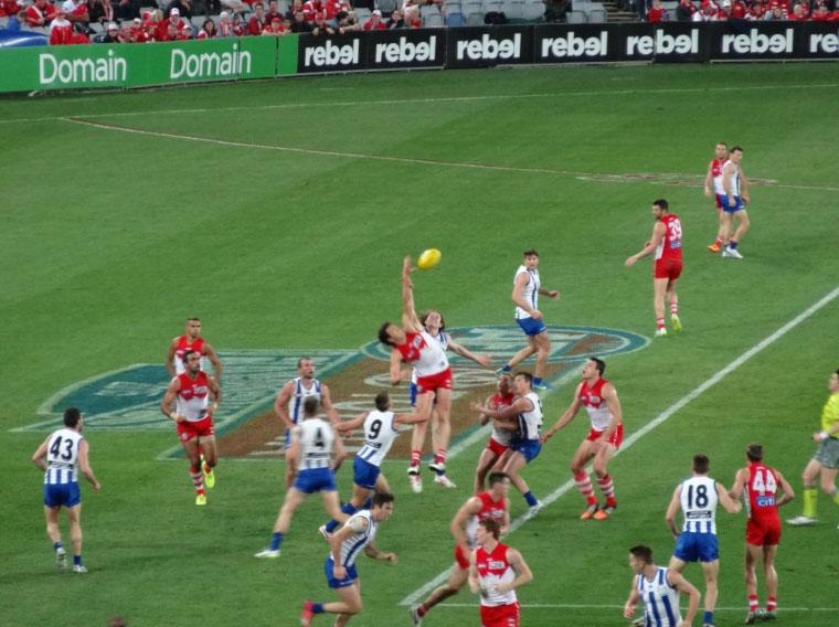 Australian Football - Masterstudium in Australien