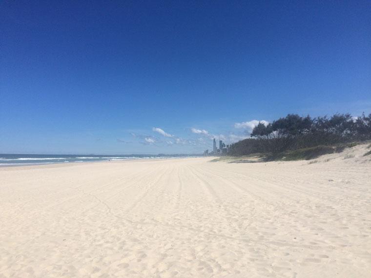Sandstrand Australien