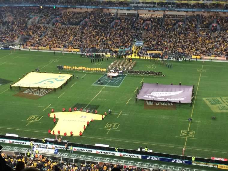 Footballspiel Australien
