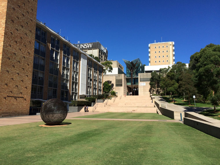 Eingangsbereich University of New South Wales