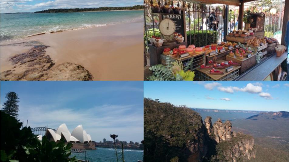 Collage Auslandssemester in Sydney