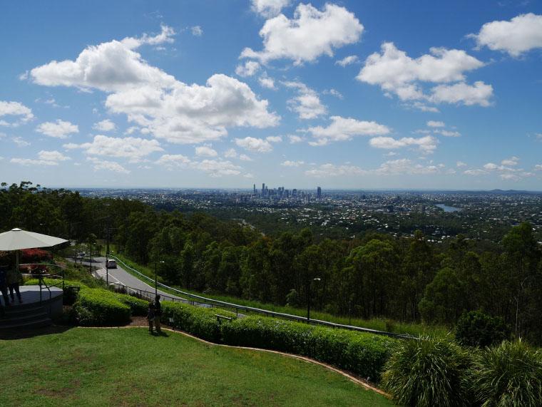 Aussicht auf Brisbane