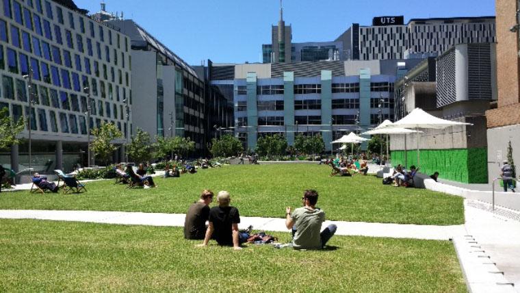 UTS Campus - Erfahrungsbericht Studium Australien