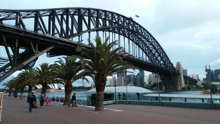 Hafenbrücke - Erfahrungsbericht Studium Australien