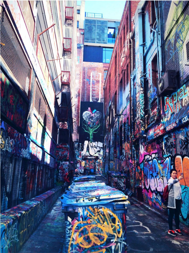 Laneway Culture Graffiti