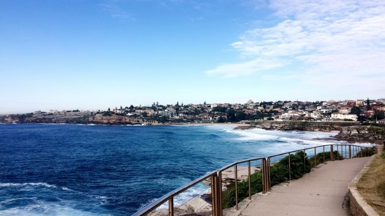 Bondi Coastal Walk in Sydney