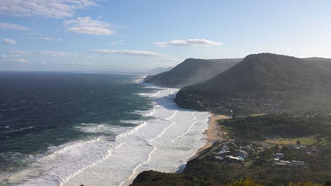 Küste nahe Sydney