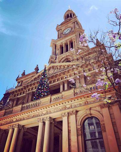 Townhall Christmas Tree