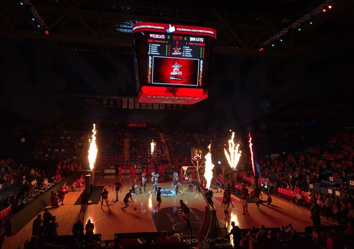 Wildcats Basketball Spiel