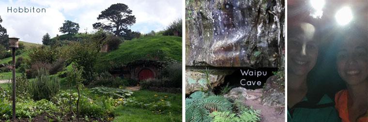 Hobbiton und Waipu Cave