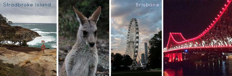 Brisbane und Stradbroke Island