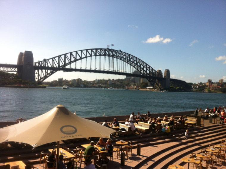 Harbour Bridge, Sydney - Master Studium Australien