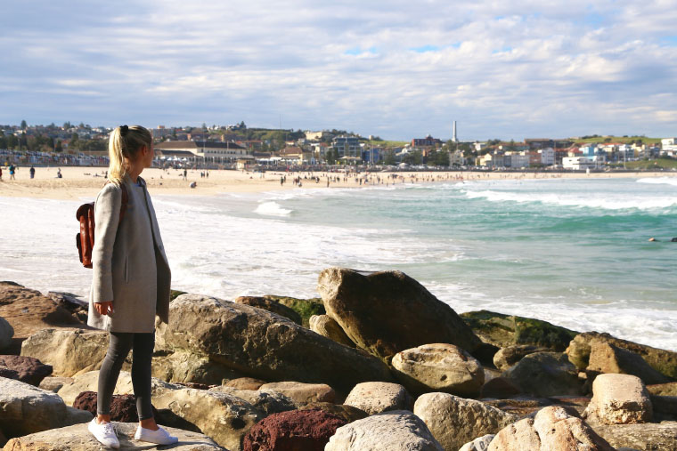 Bondi Beach - Master Studium Australien
