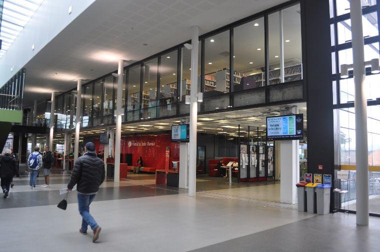 Erfahrungsbericht Bannert Hub auf dem Kelburn Campus