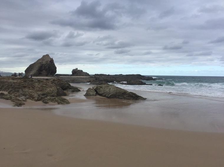 Coolangatta Beach Australien