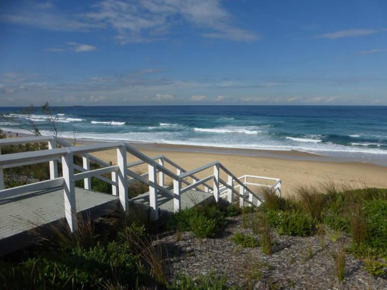 Erfahrungsbericht Kaufmann_Merewether_Beach