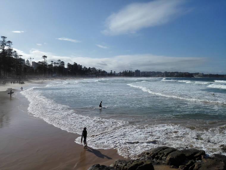 Erfahrungsbericht Lorenz Manly Beach