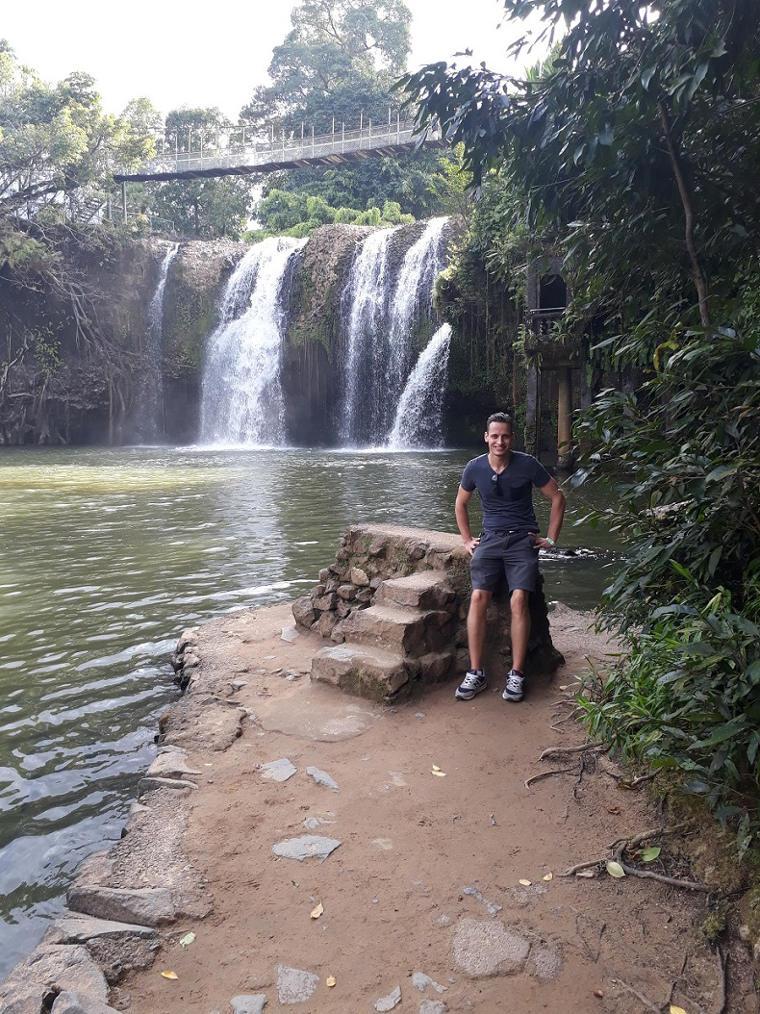 Erfahrungsbericht Mueller van Ishem Australien Wasserfall