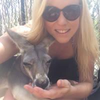 Erfahrungsbericht Optensteinen Australien Porträt mit Kangaroo