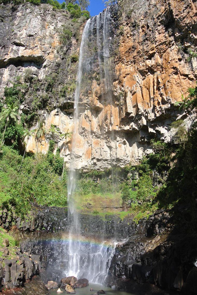 Wasserfall im Springbrook Nationalpark