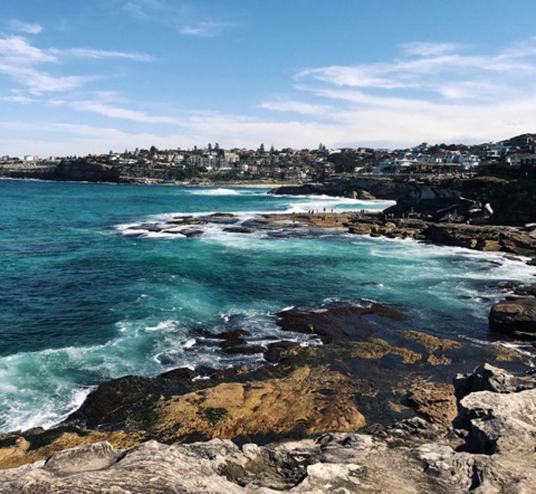 Küste Australiens