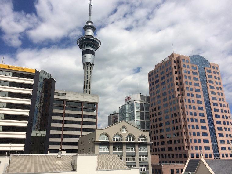 Skytower Neuseeland