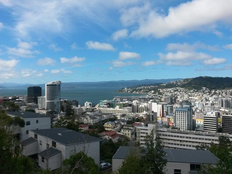 Stadtzentrum Wellington